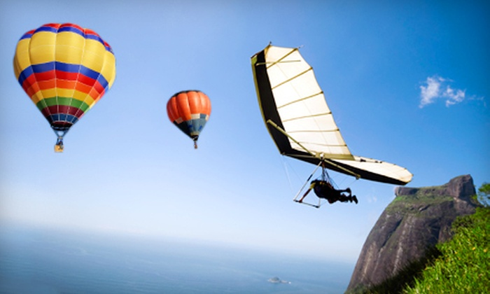 Sportations - Memorial Park: $50 for $120 Toward Hot Air Balloon Rides, Skydiving, Ziplining, or Other Adrenaline Activities from Sportations
