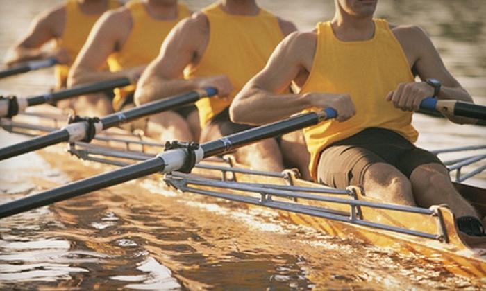 Triangle Rowing Club - Swift Creek: $30 for a Three-Hour Rowing Class by Triangle Rowing Club ($80 Value)