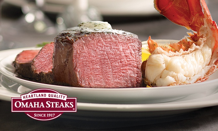 Omaha Steaks Inc. **NAT**: Valentine's Steak Combo Pack from Omaha Steaks (Up to 73% Off). Three Options Available.