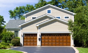 Precision Overhead Door Service: $99 for a Garage-Door Inspection, Tune-Up, and Roller Installation from Precision Overhead Door Service ($319 Value)