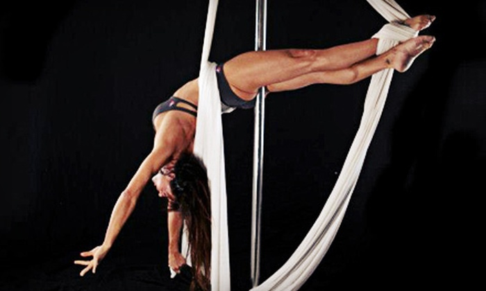 TML...Turn Me Loose Fitness - Raleigh: Three or Six Pole-Aria Classes with Option for a 90-Minute Intro Workshop at TML...Turn Me Loose Fitness (Up to 71% Off)