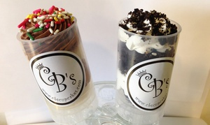 CB's Cupcakes: One Half-Dozen or One Dozen Push Pops at CB's Cupcakes (Up to 38% Off)