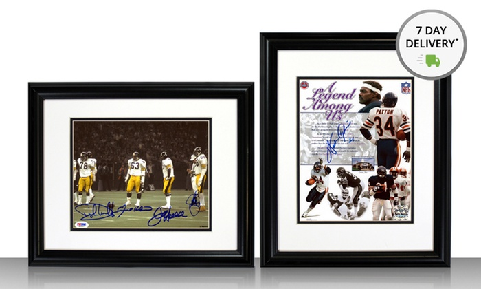 "Pro Football Hall of Fame 8""x10"" Signed Photos: Pro Football Hall of Fame 8""x10"" Signed Photo. Multiple Players Available from $59.99–$169.99. Free Shipping and Return."