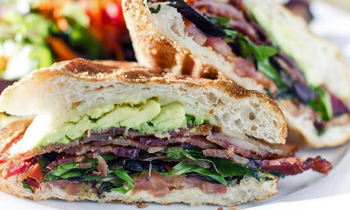 The Hollywood Corner  - Hollywood: Sandwiches, Pizza, and Creative Comfort Food at The Hollywood Corner (Up to 45% Off)