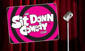 The Sit Down Comedy Club: Comedy Show Ticket for One ($10) or Two People ($18) to The Sit Down Comedy Club, Paddington (Up to $62 Value)