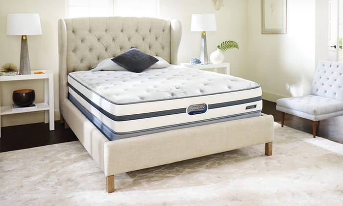 Simmons Beautyrest Recharge Mattress Set: Simmons Beautyrest Recharge Mandevilla Plush-Top Mattress Set (Up to 62% Off). Free White-Glove Delivery.