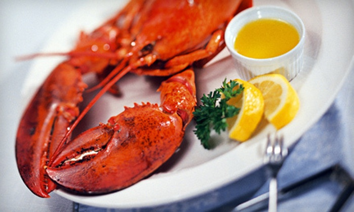 Brewsters Seafood Market - Hampton Bays: Lobster Dinner for Two or Four or One or Two Pounds of Takeout Shrimp at Brewsters Seafood Market (Up to 56% Off)