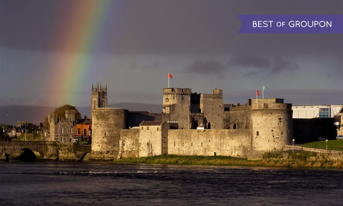 9-Day/ 7 Night Ireland Trip with Air and Car from Great Value Vacations