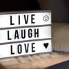 Cinematic Light Box with Letters