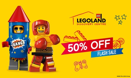 LEGOLAND Discovery Centre Melbourne: Child or Adult Entry for $16.25 (Up to $32.50 Value) - Valid till 31st May 2021