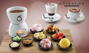 Mövenpick Ice Cream: $18 for Fondue and Hot Drinks for Two People at Mövenpick, Maribyrnong (Up to $37 Value)