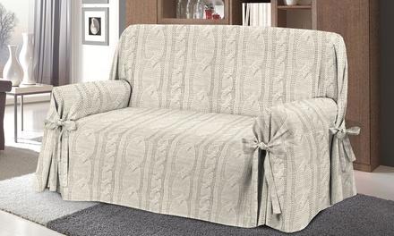 Copridivano con laccetti groupon goods - Rifoderare divano fai da te ...