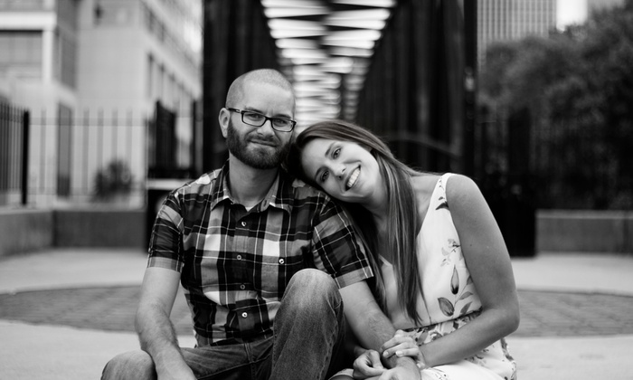 Emily B Photography - Richmond: 60-Minute Engagement Photo Shoot with Wardrobe Changes and Digital Images from Emily B Photography  (75% Off)