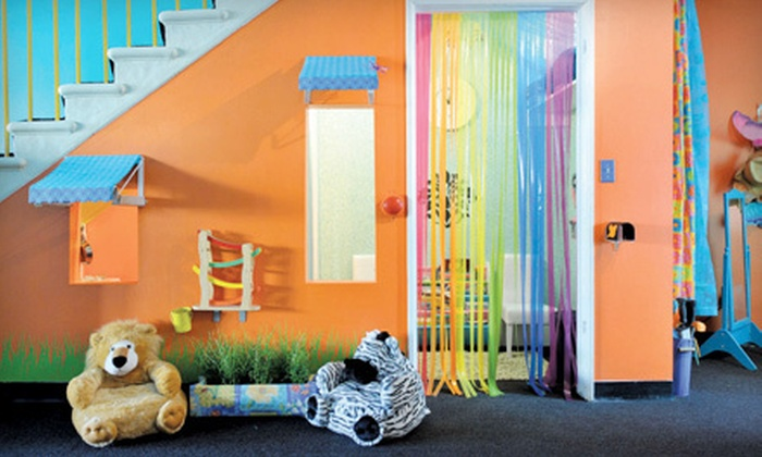 Pamper & Play - West Los Angeles: 5 or 10 Hours of Supervised Play for One Child or a Family of Two or More Children at Pamper & Play (Up to 58% Off)