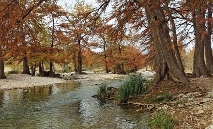 Stay at River Bluff Cabins on the Frio River
