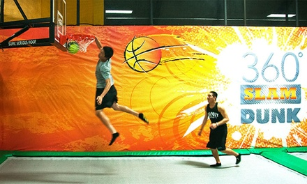 One-Hour Jump Pass for Two, Four, or Six at Rockin' Jump (Up to 46% Off)
