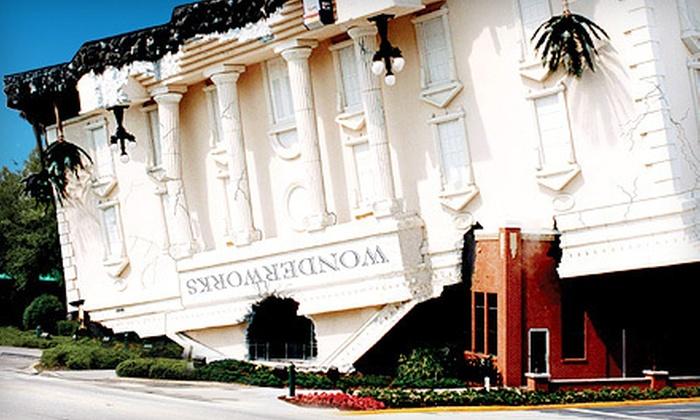 WonderWorks Orlando - Orlando: $25 for General-Admission Tickets for Two to WonderWorks Orlando (Up to $49.98 Value)