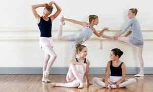 Dance Academy: Four Weekly Children's Dance Lessons for One or Two Kids at Dance Academy (Up to 52% Off)