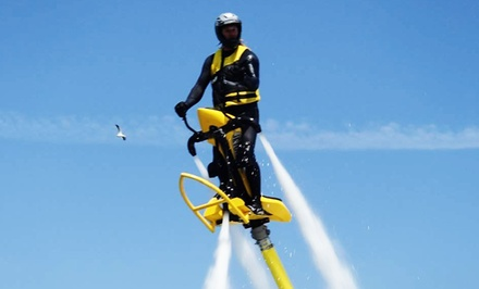 30-Minute Jetovator Experience, Flyboard Flight, or Both for One or Two at Aquaflyboarding USA (Up to 62% Off)