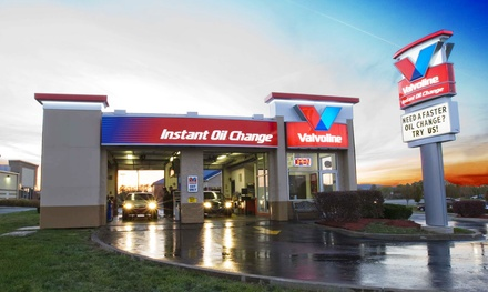 Oil Change at Valvoline Instant Oil Change (Up to 50% Off). Three Options Available at Three Locations.