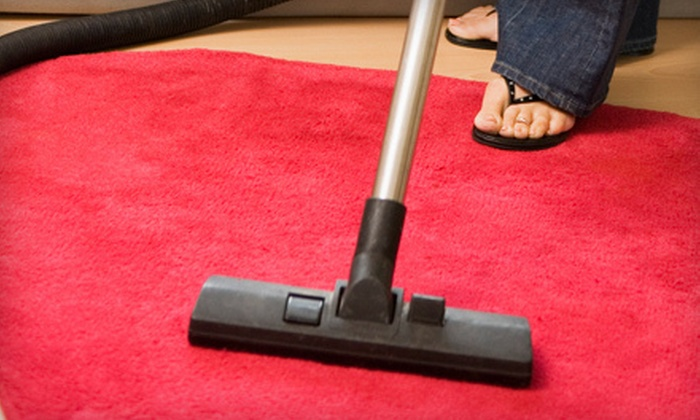 Empire Services - Kansas City: Carpet Cleaning for Two or Four Rooms and One Hallway from Empire Services (Up to 55% Off)