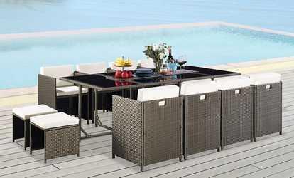 Divani Per Esterni Rattan : Arredamento per patio e giardino deals & coupons groupon