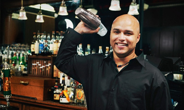 Professional Bartenders School - Multiple Locations: Flair-Bartending Class, Two-Week Hands-On Bartending Course, or Both at Professional Bartenders School (Up to 80% Off)