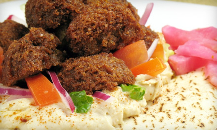 Sepal - Neighborhood Nine: $20 for Five Groupons, Each Good for $8 Worth of Mediterranean and Middle Eastern Food at Sepal ($40 Total Value)