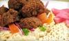 Half Off Middle Eastern Food at Sepal