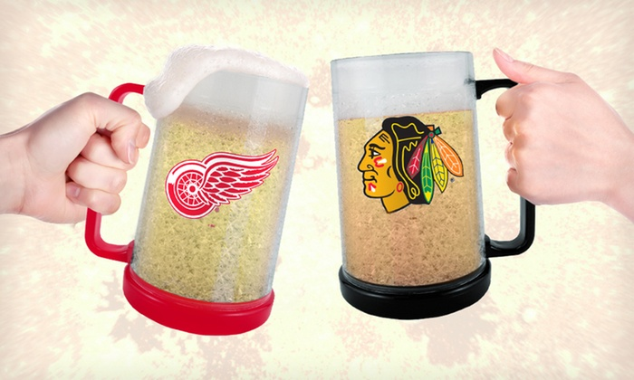 NHL Freezer Mug Two-Pack: $19.99 for a Two-Pack of NHL Freezer Mugs ($39.72 List Price). 20 Teams Available. Free Shipping and Returns.