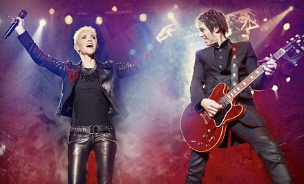 Roxette at Rexall Place on Mon., Sept. 10 at 7:30PM: Reserved Level 100 Seating - Roxette  in Edmonton