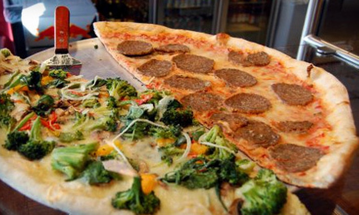 Bada Bing Pizza - University: $7 for $15 Worth of Pizza and Subs at Bada Bing Pizza