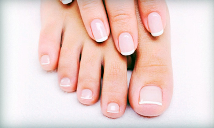 Pink Nails Day Spa - Main Line: $40 Worth of Nailcare, Waxing, and Massages