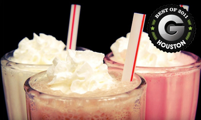 59 Diner - Multiple Locations: $7 for $14 Worth of American Diner Fare and Milk Shakes at 59 Diner