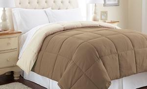 Reversible Down-alternative Comforter; Multiple Sizes From $24.99��$34.99