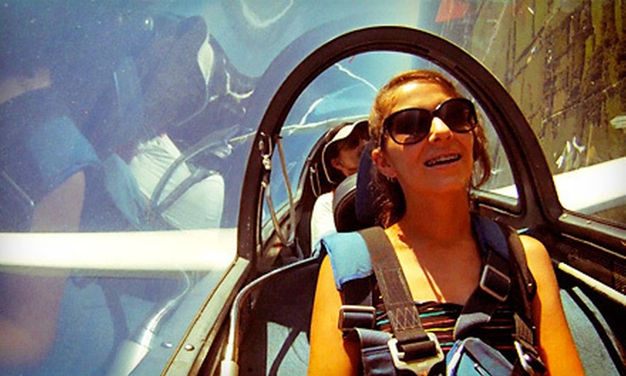 Sylvania Soaring Adventures - Turtle: Introductory, Intermediate, or Mile-High Scenic Flight with Lesson from Sylvania Soaring Adventures (Up to 54% Off)