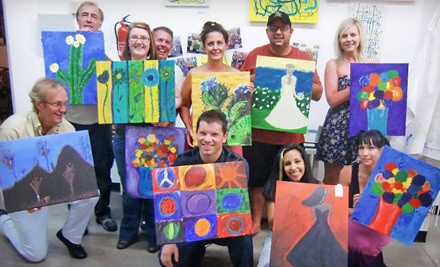 Walk-In Painting Session for One or Two, or BYOB Painting Class for Two or Four (Up to 54% Off)