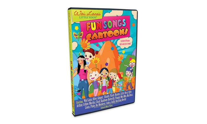 Wai Lana Fun Songs Cartoons Dvd Groupon Goods