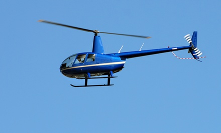 30-Minute Helicopter Tour for Two or Three People from Copter Pilot (Up to 48% Off)