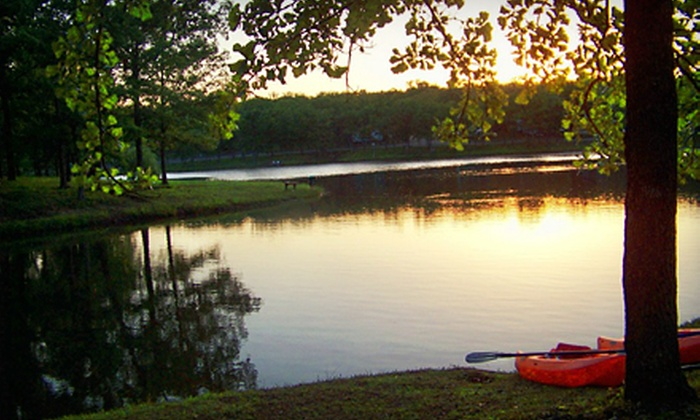 Meramec Valley Campground & RV Park - Cuba: All-Day Canoe or Raft Excursion at Meramec Valley Campground & RV Park (Up to 63% Off). Three Options Available