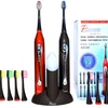 Pursonic Dual Sonic Electric Toothbrush Set with UV Sanitizer