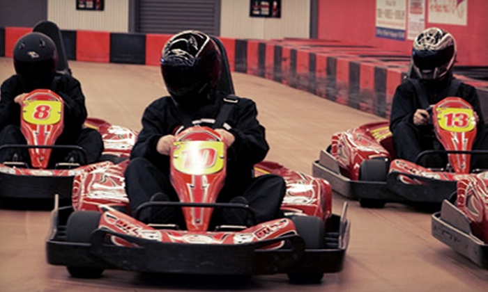 Driven Raceway - Multiple Locations: Two or Four Go-Kart Races for Kids or Adults at Driven Raceway (Up to 49% Off)