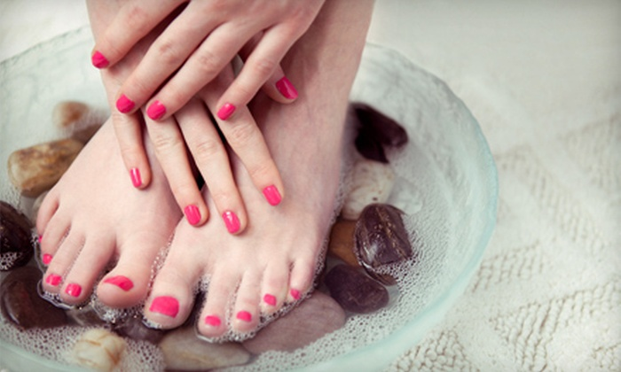Asian Retreat And Nail Salon - Winter Garden Village At Fowler Groves: Pedicure or One or Two Mani-Pedis at Asian Retreat And Nail Salon (Up to 56% Off)
