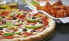The Park Tavern - St. Louis Park: Two Pizzas and 5 Pounds of Wings, or Four Pizzas and 10 Pounds of Wings at The Park Tavern (Up to 51% Off)