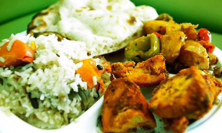 Indian Cuisine at Lotus Indian Express (Up to 40% Off). Two Options Available.