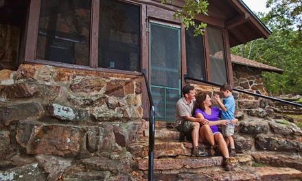 $46 for a 1-Night Stay for Up to Four in a One-Bedroom Stone Cabin at Greenleaf State Park (Up to $93 Value)