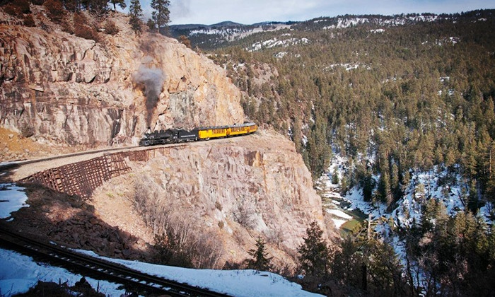 Durango & Silverton Narrow Gauge Railroad - Durango: Two or Four Standard-Class Coach Tickets from Durango & Silverton Narrow Gauge Railroad (Up to 43% Off)
