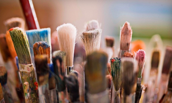 Studio 915 - South Milwaukee: One, Two, or Four Afternoon Art Workshops at Studio 915 in South Milwaukee (Up to 56% Off)