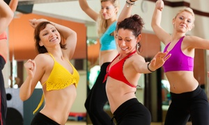 World of Dances: 6 or 12 Zumba Classes at World of Dances (Up to 65% Off)