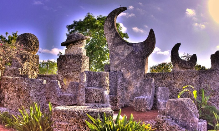 Coral Castle - Homestead: Admission for Two or Four Adults to Coral Castle (Up to 45% Off)